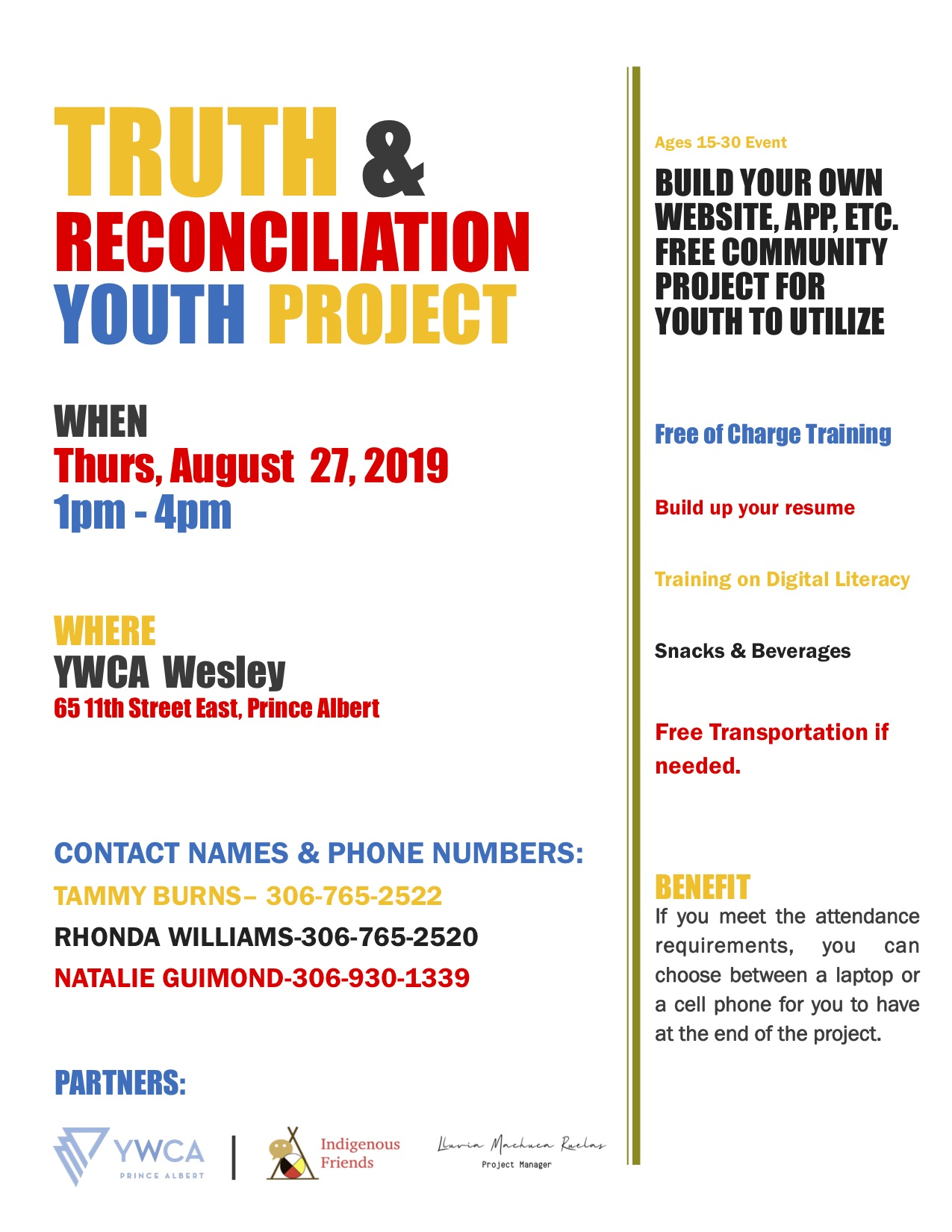 Image result for youth 4 truth & reconciliation project