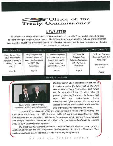 OTC Newsletter January 2015