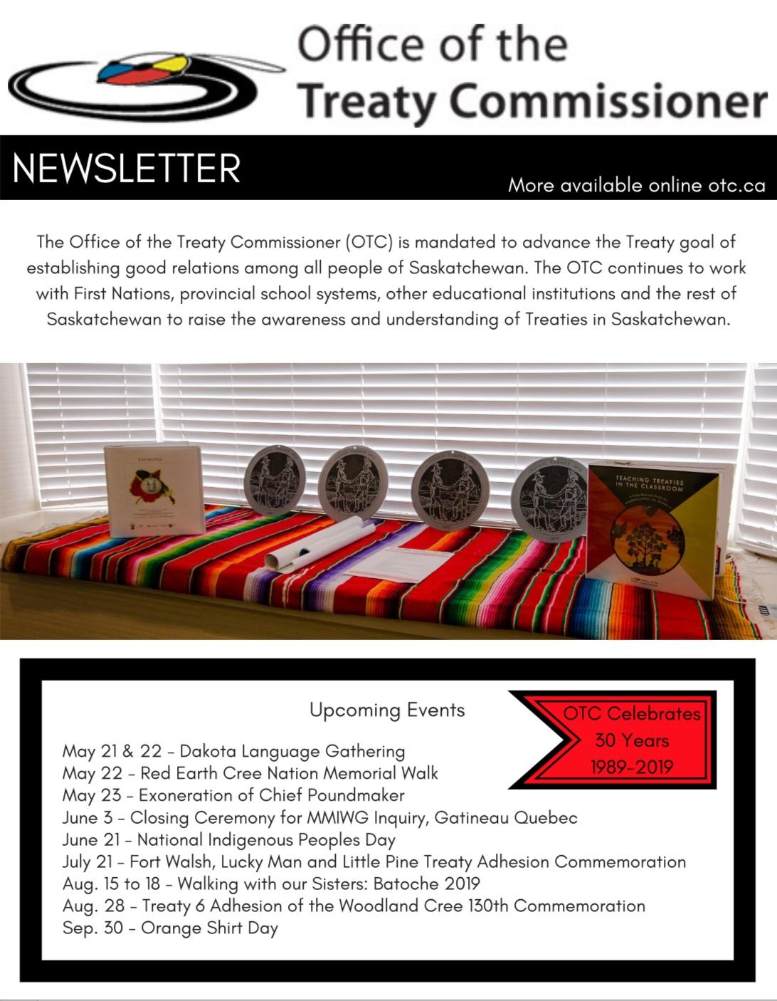 OTC Newsletter Spring 2019