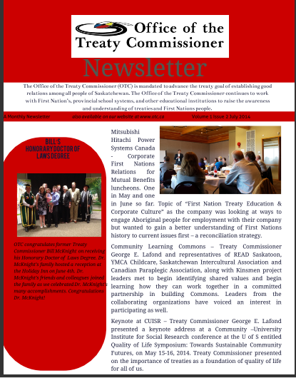 OTC Newsletter July 2014