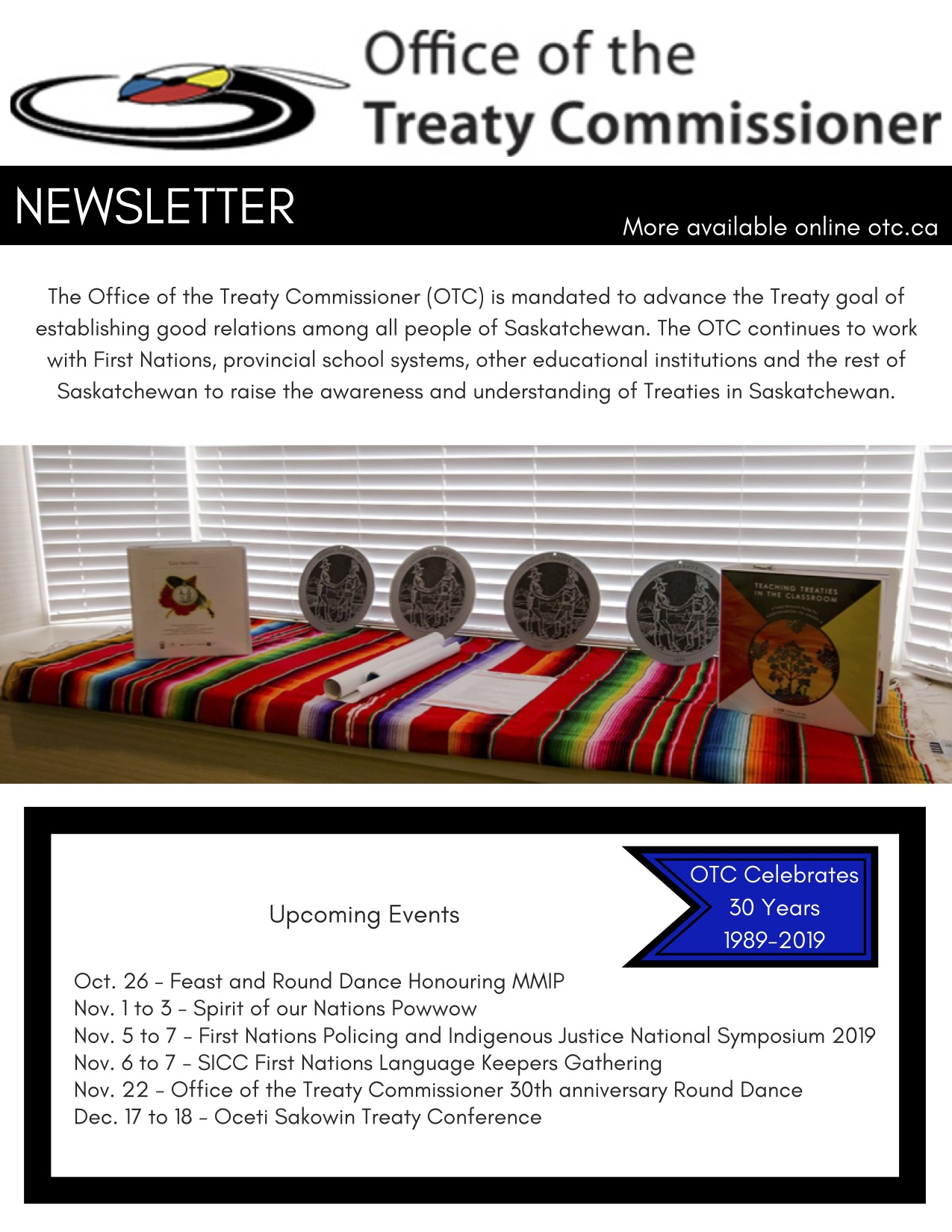 OTC Newsletter Fall 2019