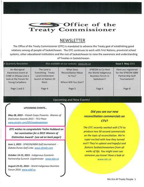 OTC Newsletter May 2015