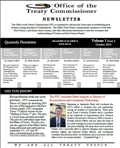 OTC Newsletter October 2014