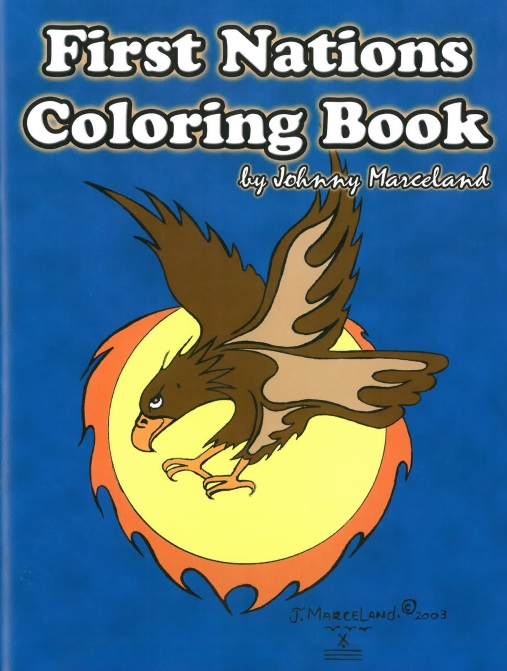 First Nations Colouring Books