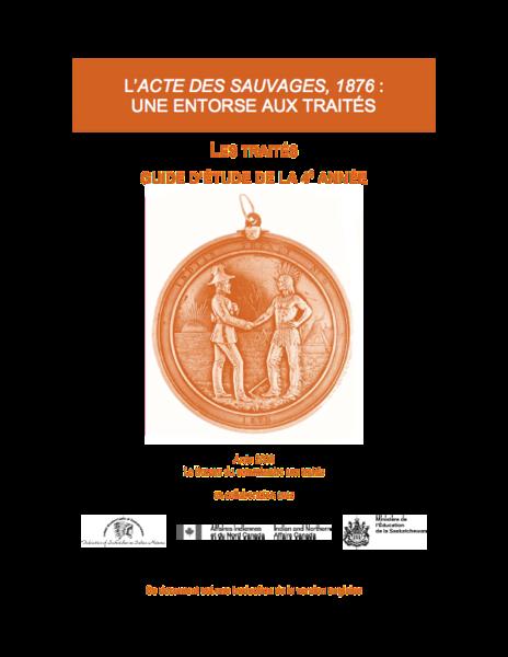 Les Traités Guide D'Étude de La 4e Année