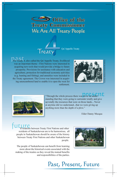 Set of Treaty Posters -- 4, 5, 6, 8 and 10